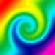 Применение к слою с изображением фильтра Twirl